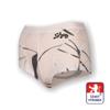 Obrázek z Dámské kalhotky s nohavičkou potisk bílá SilverTech