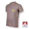Obrázek z Dětské triko krátký rukáv šedá/zelená SilverTech