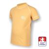 Obrázek z Dětské triko krátký rukáv béžová/bílá SilverTech