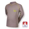 Obrázek z Dětské triko dlouhý rukáv šedá/zelená SilverTech