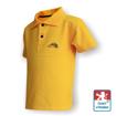 Obrázek z Dětské polo krátký rukáv žlutá/černá Bavlna