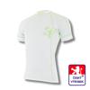 Obrázek z Pánské triko krátký rukáv bílá/zelená BambooLight