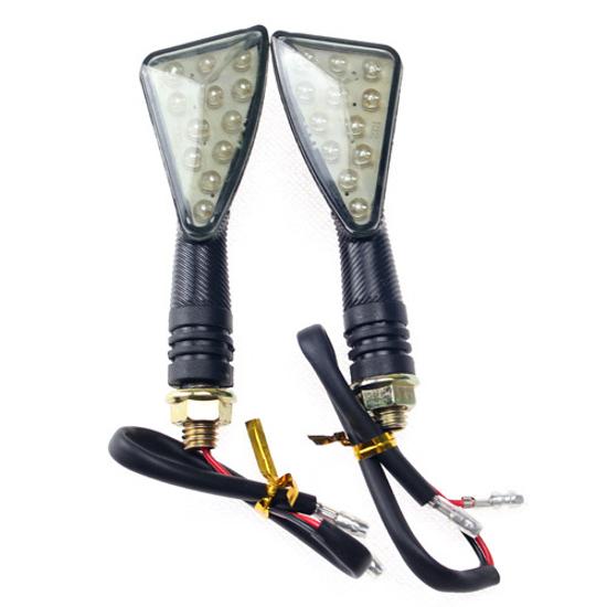 Obrázek z LED Blinkry Na motorku 12 LED  2ks Trojúhelník