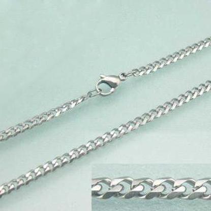 Obrázek Pánský řetízek na krk chirurgická ocel 50 cm