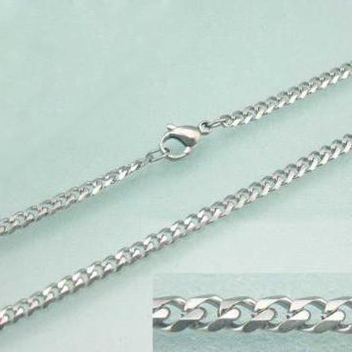 Obrázek z Pánský řetízek na krk chirurgická ocel 50 cm