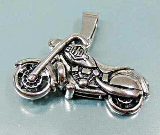 Obrázek z Ocelový přívěsek - chopper
