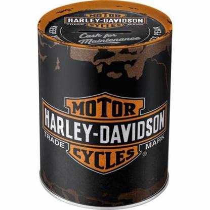 Obrázek Pokladnička Harley Davidson plechovka