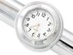 Obrázek z Analogové hodiny na řidítka 22-25mm - bílé