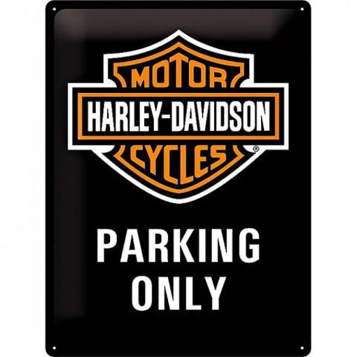 Obrázek z Plechová cedule Harley-Davidson Parking Only