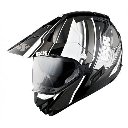 Obrázek iXS HX 207 ATLAS - off-road / on-road helma s integrovaným hledím