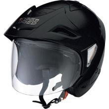 Obrázek z iXS HX 95 - helma s integrovanou stříškou a sluneční clonou - Černá matná