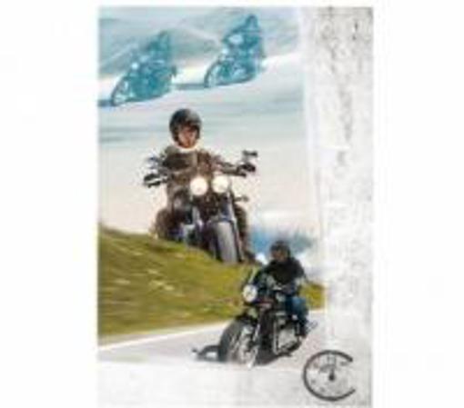 Obrázek z Narozeninové přání Chopper pro motorkáře