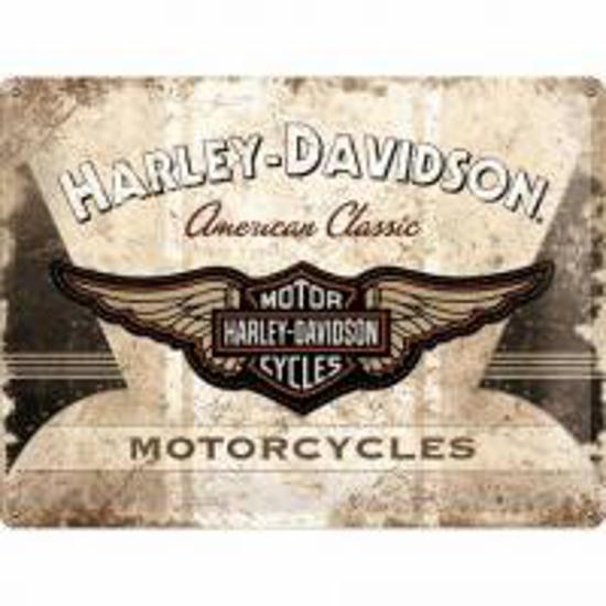 Obrázek z Plechová cedule Harley Davidson American Classic