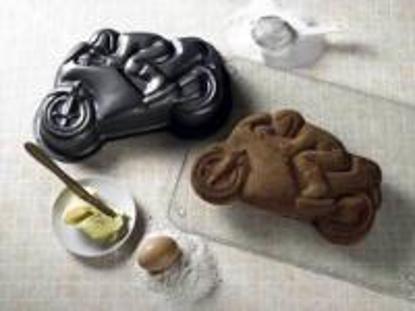 Obrázek Motorka - forma na pečení