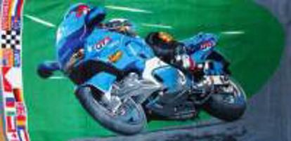 Obrázek Osuška ruční Motorka motocykl NOVINKA 2016