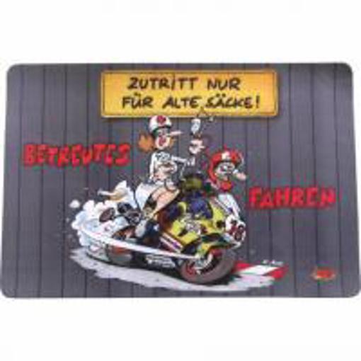 Obrázek z Rohožka předložka Motomania dárek pro motorkáře