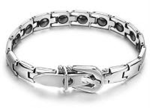 Obrázek z Pánský ocelový náramek - pásek