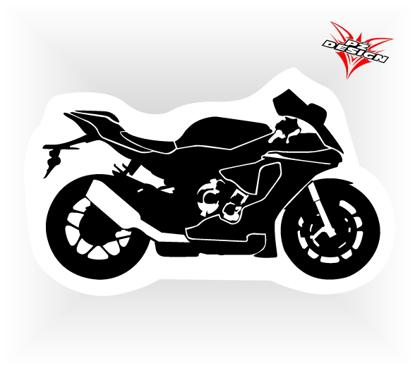 Obrázek Samolepka motorky  Silniční moto
