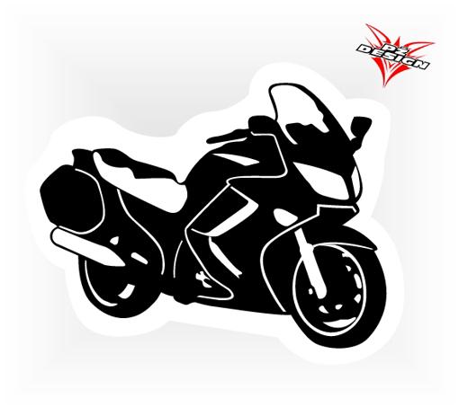 Obrázek z Samolepka Cestovní moto