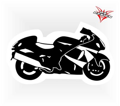 Obrázek Samolepka Silniční moto - Hayabusa