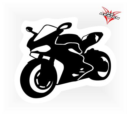 Obrázek Samolepka Silniční moto - Ducati