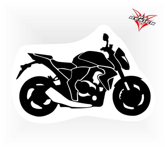 Obrázek z Samolepka motorky Naháč  2