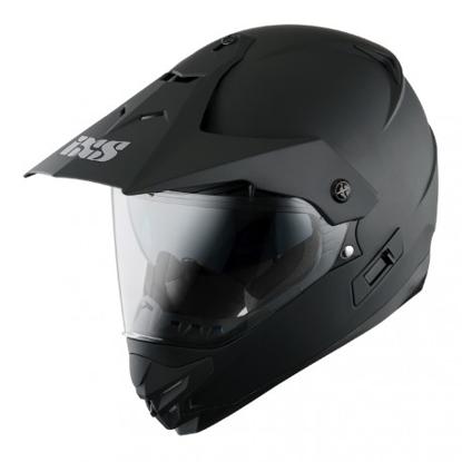 Obrázek iXS HX 207 - off-road / on-road helma s integrovaným hledím
