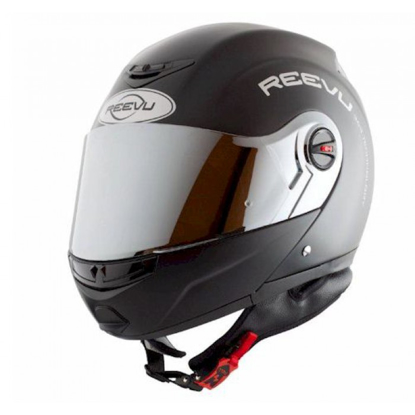 Obrázek REEVU FSX1 - jedinečná výklopná helma na motorku