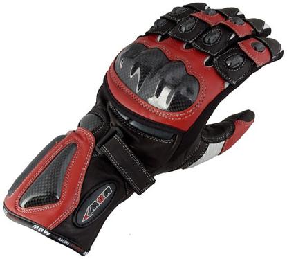 Obrázek CA RED - moto rukavice z klokaní kůže