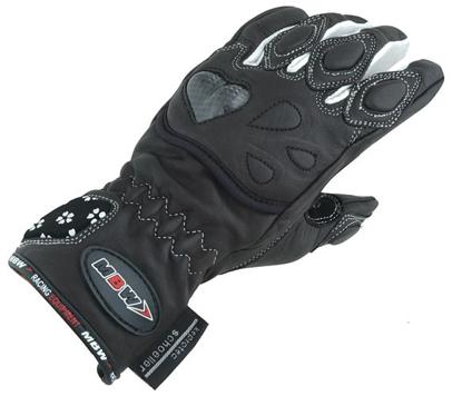 Obrázek DAISY - dámské kožené rukavice na motorku