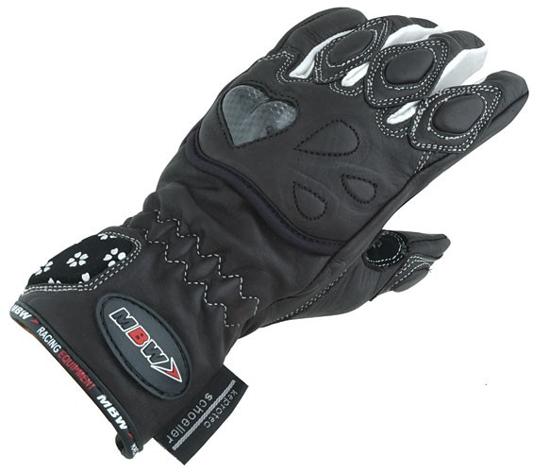 Obrázek z DAISY - dámské kožené rukavice na motorku