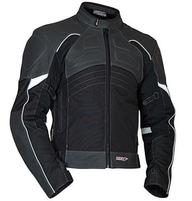 Obrázek LANTA - moto bunda kůže + textil