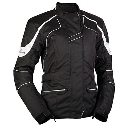 Obrázek NIKITA black - dámská textilní bunda