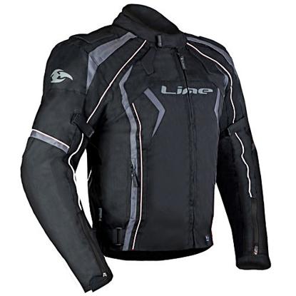 Obrázek NEO black - pánská textilní moto bunda