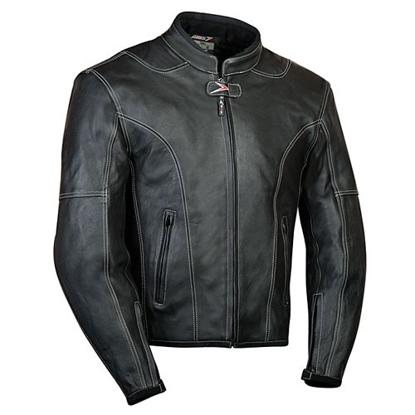 Obrázek LARROS - kožená bunda na motorku