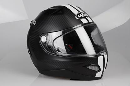 Obrázek LAZER KITE Mustang Pure Carbon Black Carbon Matt - White