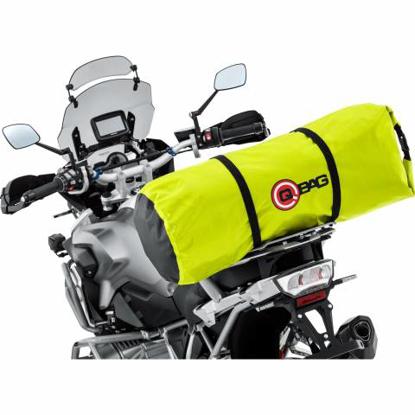 Obrázek QBag nepromokavý moto válec 50 litrů Neon