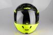 Obrázek z LAZER  Monaco EVO Droid Pure Glass, Barva: černá matná - žlutá fluo