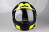 Obrázek z LAZER  Lugano Raccoun, Barva: černá - žlutá fluo - matná