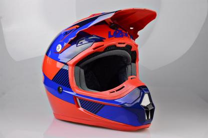 Obrázek LAZER X7 Cliffhanger, Barva:: modrá - červená
