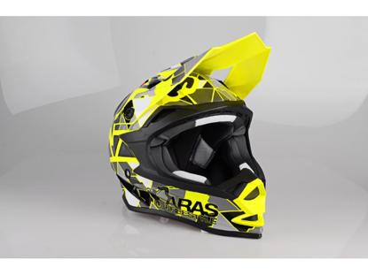 Obrázek LAZER OR1 Aras Freestyle Replica, Barva: žlutá fluo, černá, červená