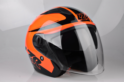 Obrázek LAZER JH1 Safety, Barva: černá, červená fluo