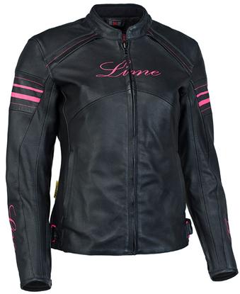 Obrázek MBW PINKY - dámská kožená moto bunda