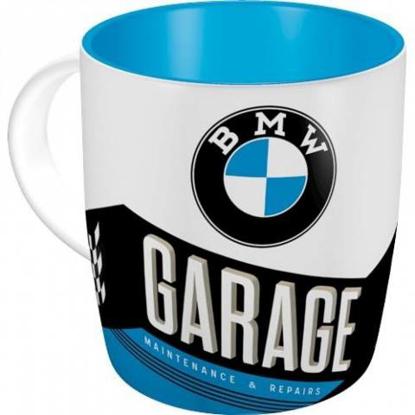Obrázek HRNEK s motorkářským motivem BMW
