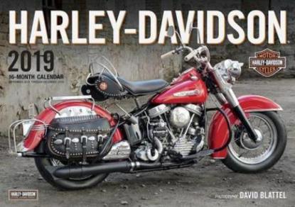 Obrázek Kalendář Harley Davidson 2019