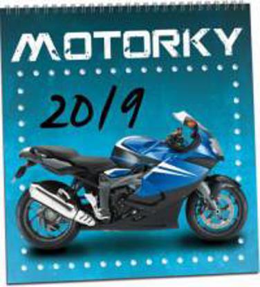 Obrázek  Kalendář Motorky 2019