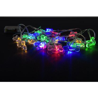 Obrázek Vánoční moto LED osvětlení - řetěz