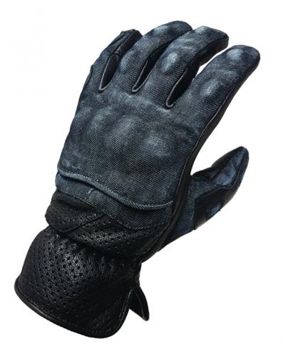 Obrázek z DENIM GLOVES vzdušné rukavice na motorku