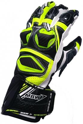 Obrázek GT-TECH - green sportovní moto rukavice