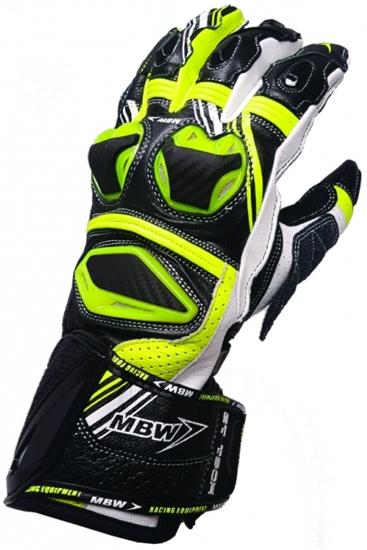 Obrázek z GT-TECH - green sportovní moto rukavice